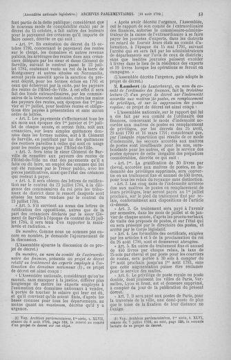Tome 48 : Du 11 août au 25 août 1792 - page 13