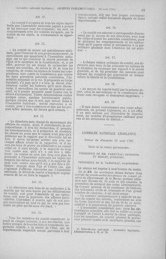 Tome 48 : Du 11 août au 25 août 1792 - page 63