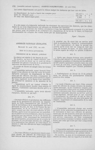 Tome 48 : Du 11 août au 25 août 1792 - page 172