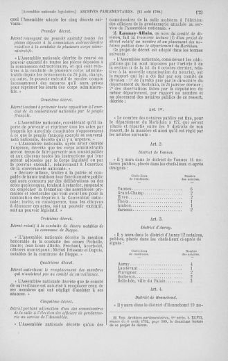 Tome 48 : Du 11 août au 25 août 1792 - page 173