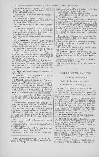 Tome 48 : Du 11 août au 25 août 1792 - page 288