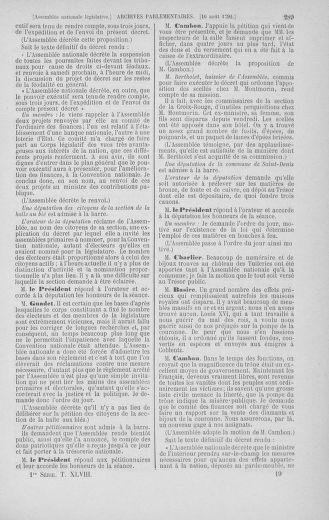 Tome 48 : Du 11 août au 25 août 1792 - page 289