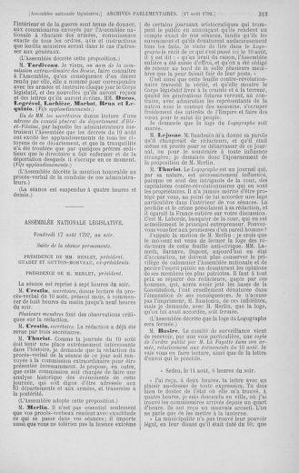 Tome 48 : Du 11 août au 25 août 1792 - page 313