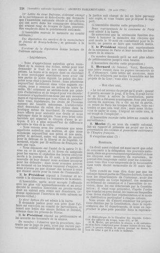 Tome 48 : Du 11 août au 25 août 1792 - page 358