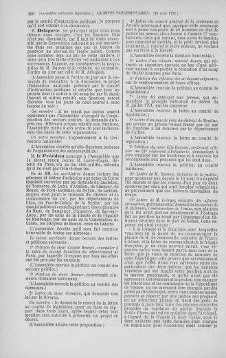 Tome 48 : Du 11 août au 25 août 1792 - page 400