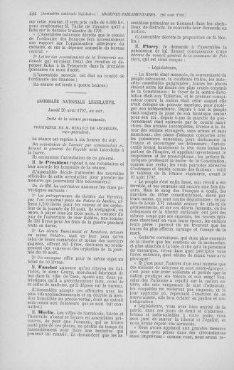 Tome 48 : Du 11 août au 25 août 1792 - page 424