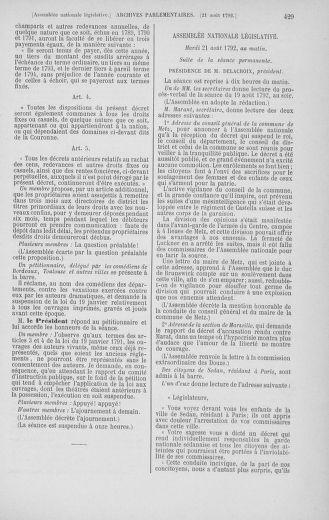 Tome 48 : Du 11 août au 25 août 1792 - page 429