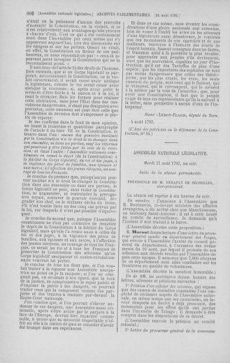 Tome 48 : Du 11 août au 25 août 1792 - page 602