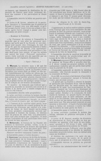 Tome 48 : Du 11 août au 25 août 1792 - page 603