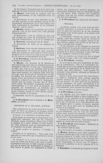 Tome 48 : Du 11 août au 25 août 1792 - page 672