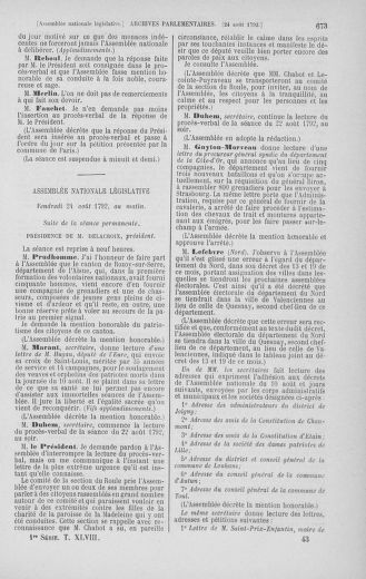 Tome 48 : Du 11 août au 25 août 1792 - page 673