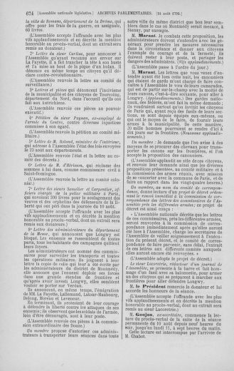 Tome 48 : Du 11 août au 25 août 1792 - page 674