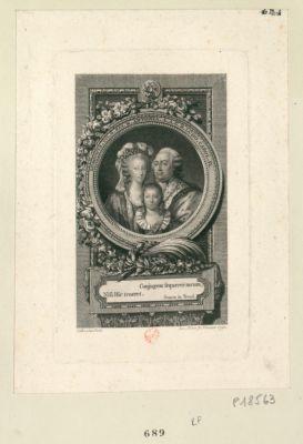 Ludovicus. XVI G. rex. M. Antonia. A.A. G.R. Ludo. Carol. D conjugem sequerer meum, Nisi hic teneret. Seneca in Troad. : [estampe]