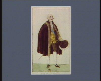 M. le duc d'Orléans deputé à l'Assemblée nationale et nommé président : [estampe]