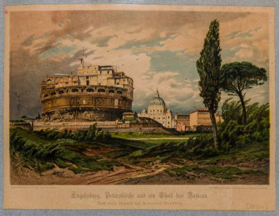 Engelsburg, Peterskirche und ein theil des Vatican