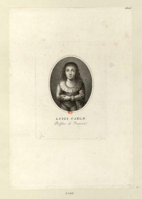 Luigi Carlo delfino di Francia [estampe]