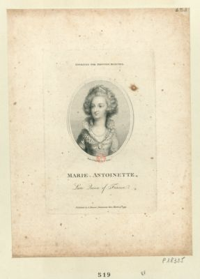 Marie Antoinette late Queen of France : [estampe]