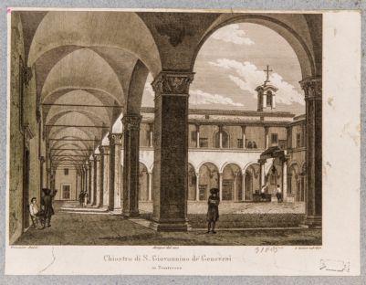 Chiesa di S. Giovanni dei Genovesi, chiostro