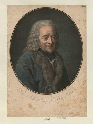 Dedié à Belle et Bonne fille adoptive de Voltaire [estampe]