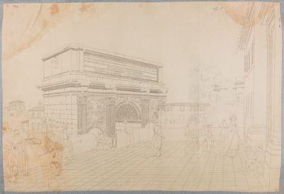 Arco di Settimio Severo. Terrazza