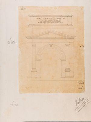 Porta Tiburtina, ricostruzione