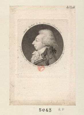 Michel Lepelletier de la Convention nationale de 1793 [estampe]