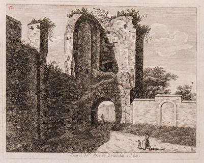 Arco di Dolabella e Silano, avanzi