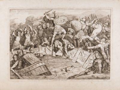 Ponte Sublicio, episodio di Orazio Coclite