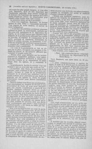 Tome 35 : Du 11 novembre au 10 décembre 1791 - page 48