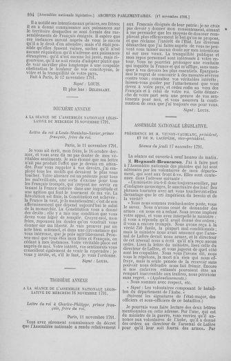 Tome 35 : Du 11 novembre au 10 décembre 1791 - page 104