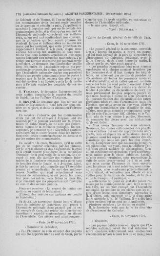 Tome 35 : Du 11 novembre au 10 décembre 1791 - page 128
