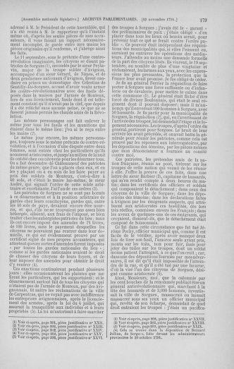 Tome 35 : Du 11 novembre au 10 décembre 1791 - page 179