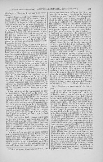 Tome 35 : Du 11 novembre au 10 décembre 1791 - page 181