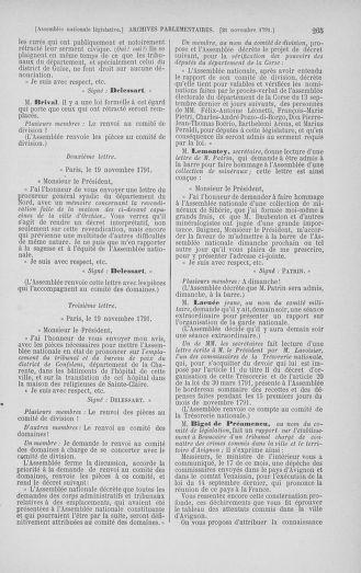 Tome 35 : Du 11 novembre au 10 décembre 1791 - page 265