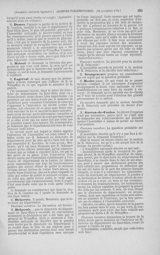 Tome 35 : Du 11 novembre au 10 décembre 1791 - page 295