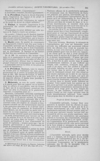 Tome 35 : Du 11 novembre au 10 décembre 1791 - page 301