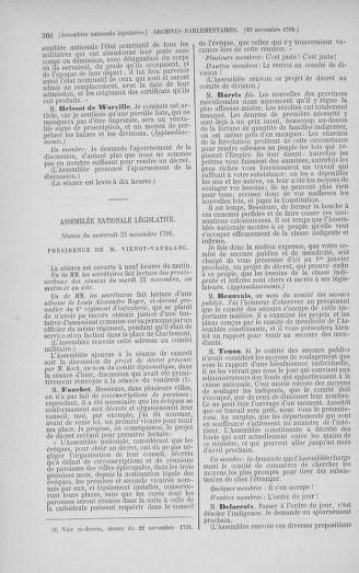 Tome 35 : Du 11 novembre au 10 décembre 1791 - page 306