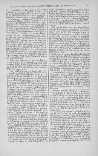 Tome 35 : Du 11 novembre au 10 décembre 1791 - page 317