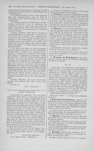 Tome 35 : Du 11 novembre au 10 décembre 1791 - page 318