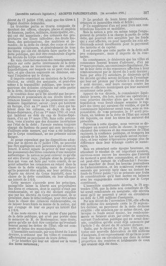 Tome 35 : Du 11 novembre au 10 décembre 1791 - page 327