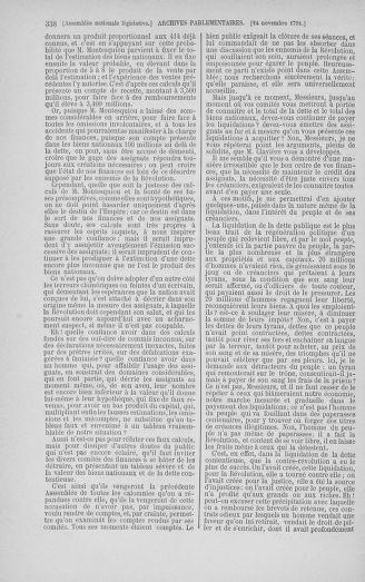 Tome 35 : Du 11 novembre au 10 décembre 1791 - page 338
