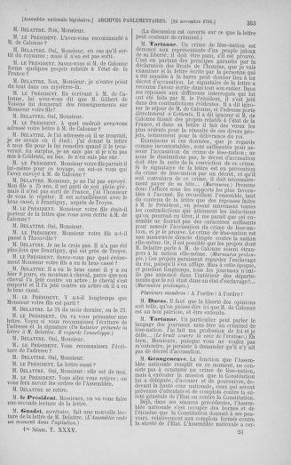 Tome 35 : Du 11 novembre au 10 décembre 1791 - page 353
