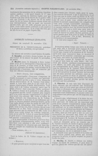 Tome 35 : Du 11 novembre au 10 décembre 1791 - page 358