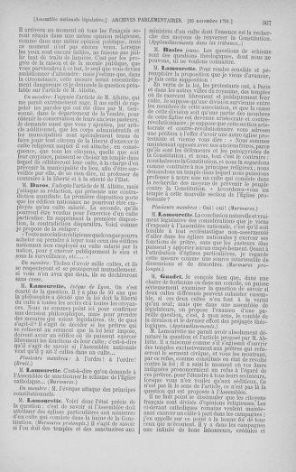 Tome 35 : Du 11 novembre au 10 décembre 1791 - page 367