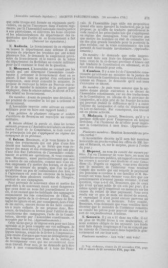 Tome 35 : Du 11 novembre au 10 décembre 1791 - page 371