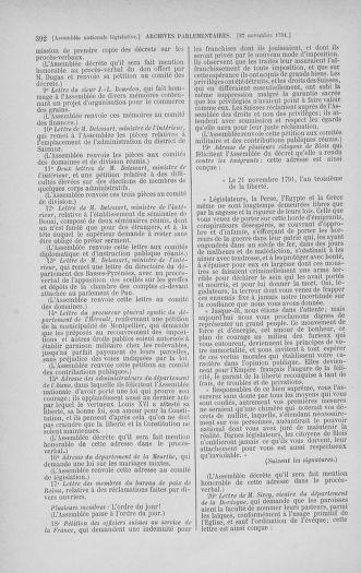 Tome 35 : Du 11 novembre au 10 décembre 1791 - page 392