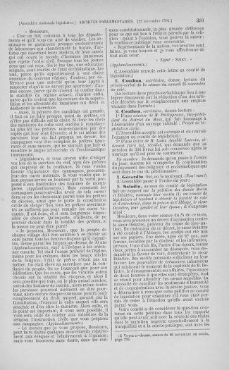 Tome 35 : Du 11 novembre au 10 décembre 1791 - page 393