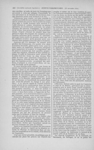Tome 35 : Du 11 novembre au 10 décembre 1791 - page 400