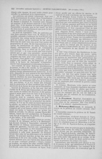Tome 35 : Du 11 novembre au 10 décembre 1791 - page 416