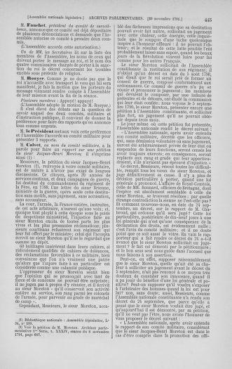 Tome 35 : Du 11 novembre au 10 décembre 1791 - page 445